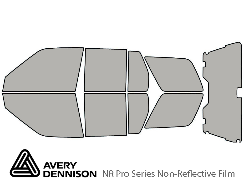 Avery Dennison Nissan Pathfinder 1996-2004 NR Pro Window Tint Kit
