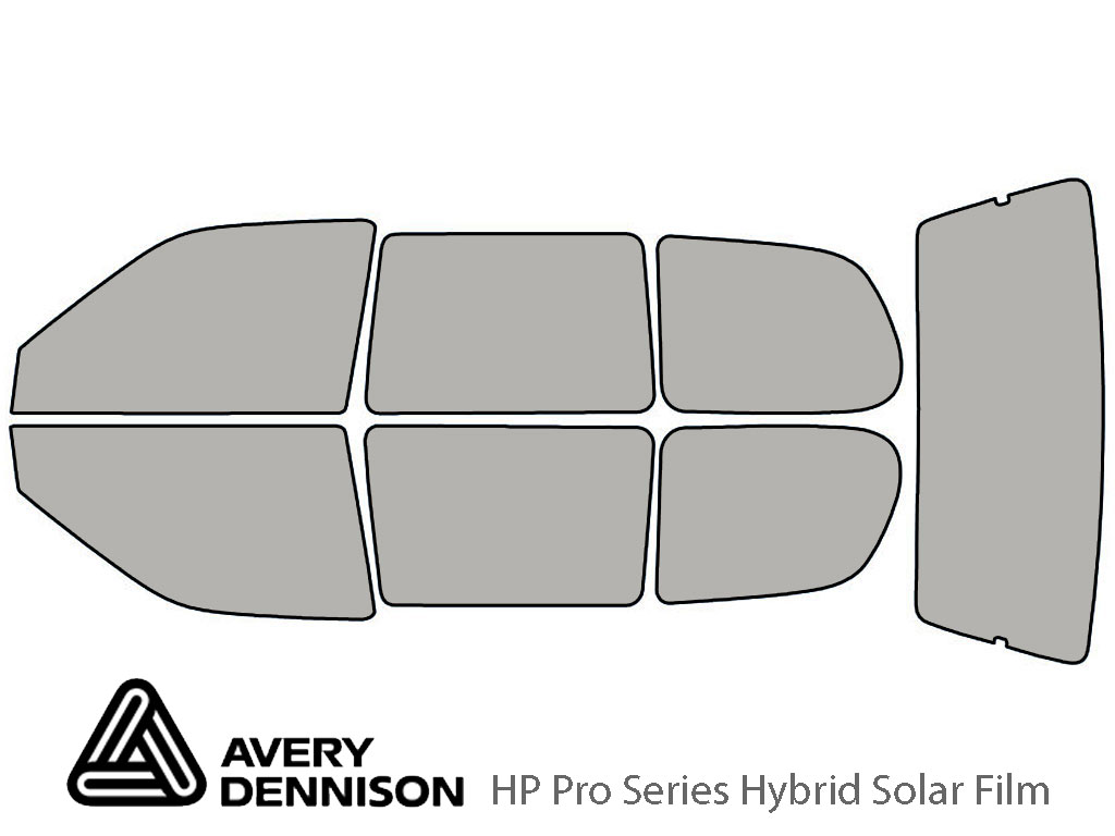 Avery Dennison Nissan Quest 1993-1998 HP Pro Window Tint Kit
