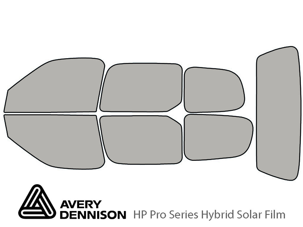 Avery Dennison Nissan Quest 1999-2003 HP Pro Window Tint Kit