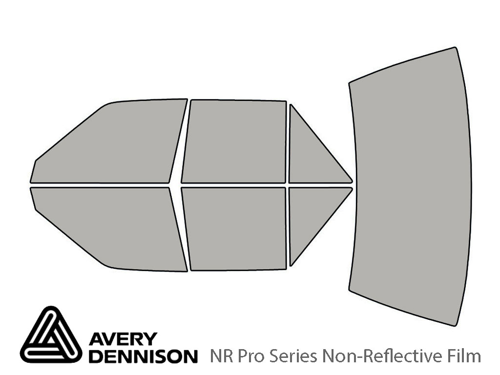 Avery Dennison Nissan Sentra 1987-1990 NR Pro Window Tint Kit