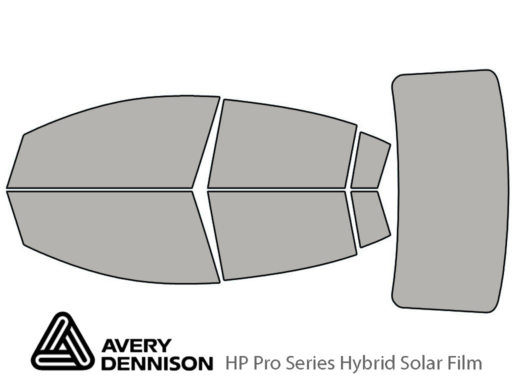 Avery Dennison Nissan Sentra 2007-2012 HP Pro Window Tint Kit