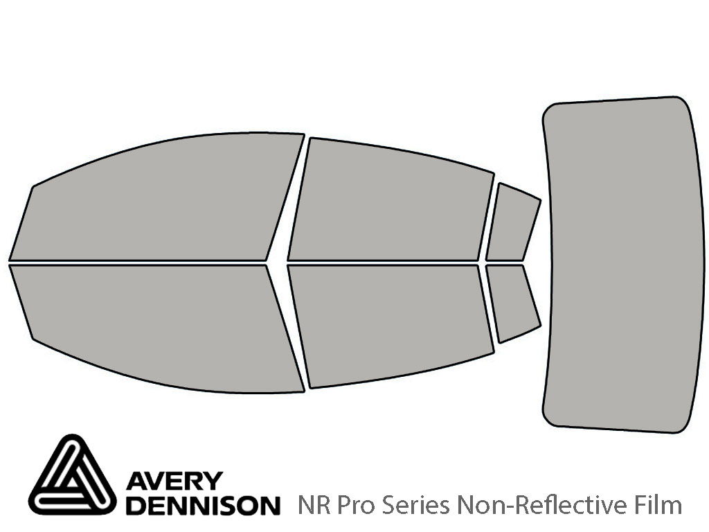 Avery Dennison Nissan Sentra 2007-2012 NR Pro Window Tint Kit
