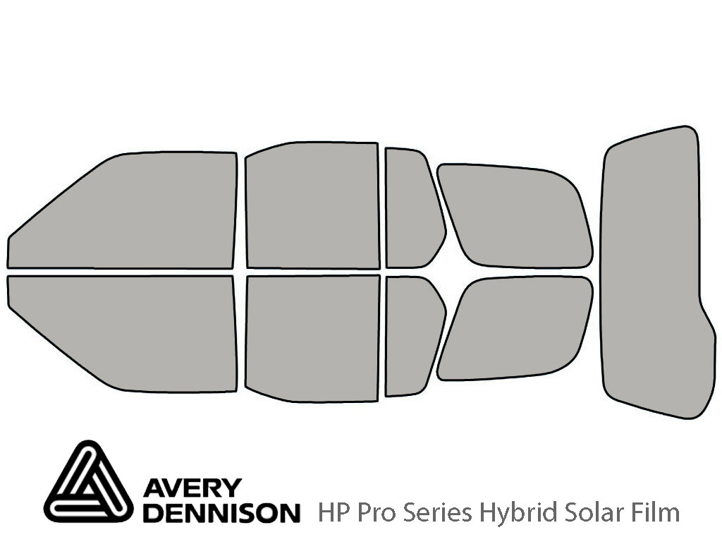 Avery Dennison Nissan Xterra 2000-2004 HP Pro Window Tint Kit