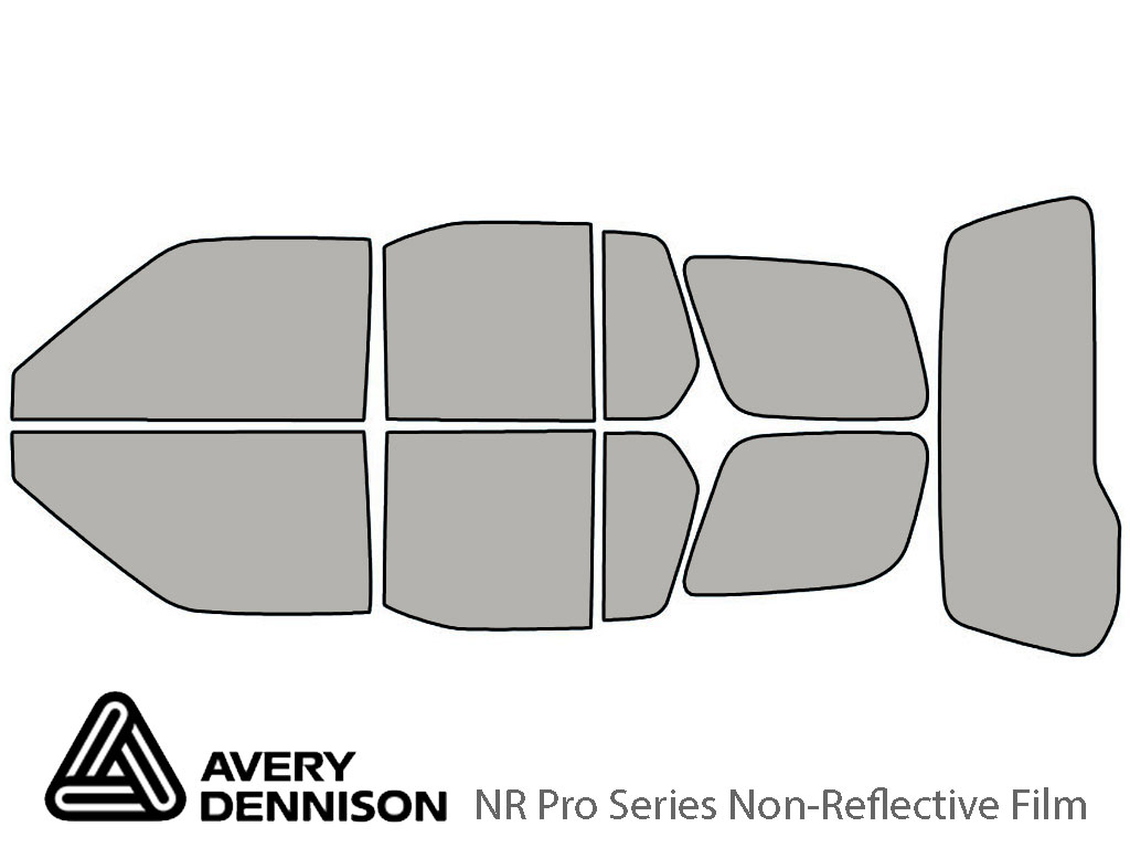 Avery Dennison Nissan Xterra 2000-2004 NR Pro Window Tint Kit