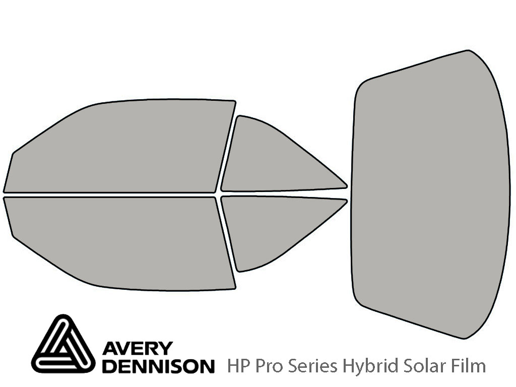 Avery Dennison Oldsmobile Achieva 1992-1997 (Coupe) HP Pro Window Tint Kit