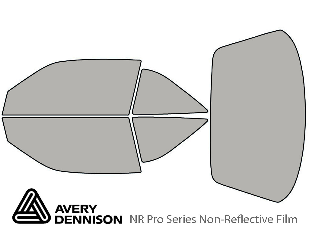 Avery Dennison Oldsmobile Achieva 1992-1997 (Coupe) NR Pro Window Tint Kit
