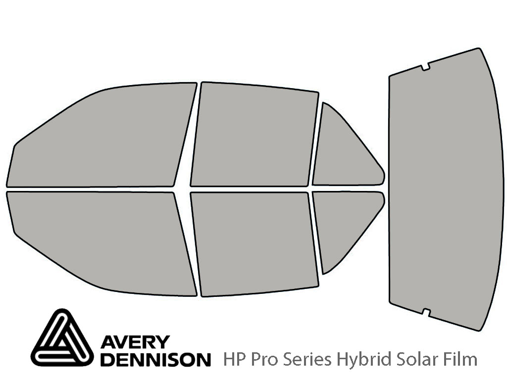 Avery Dennison Oldsmobile Achieva 1992-1998 (Sedan) HP Pro Window Tint Kit