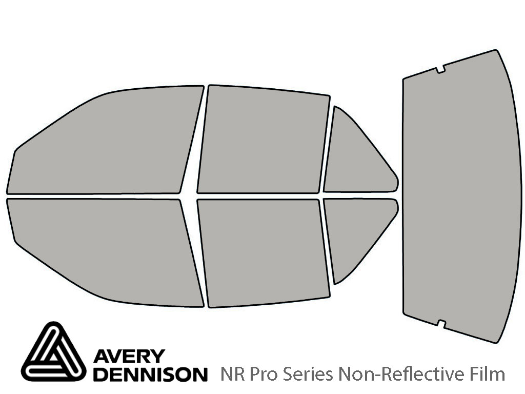 Avery Dennison Oldsmobile Achieva 1992-1998 (Sedan) NR Pro Window Tint Kit