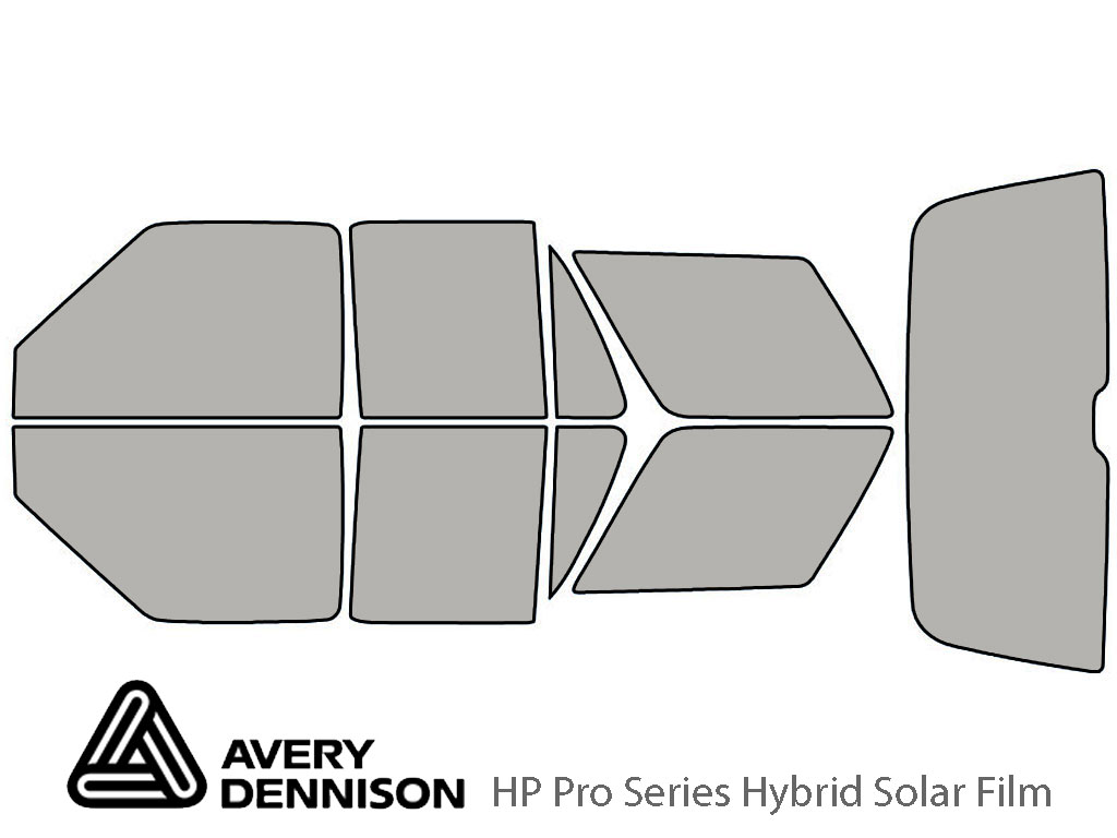 Avery Dennison Oldsmobile Bravada 1996-2001 HP Pro Window Tint Kit