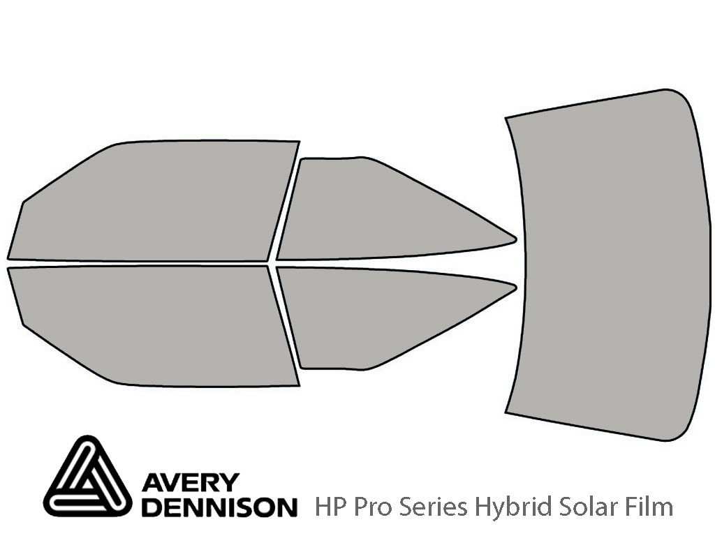 Avery Dennison Oldsmobile Cutlass Supreme 1989-1994 HP Pro Window Tint Kit