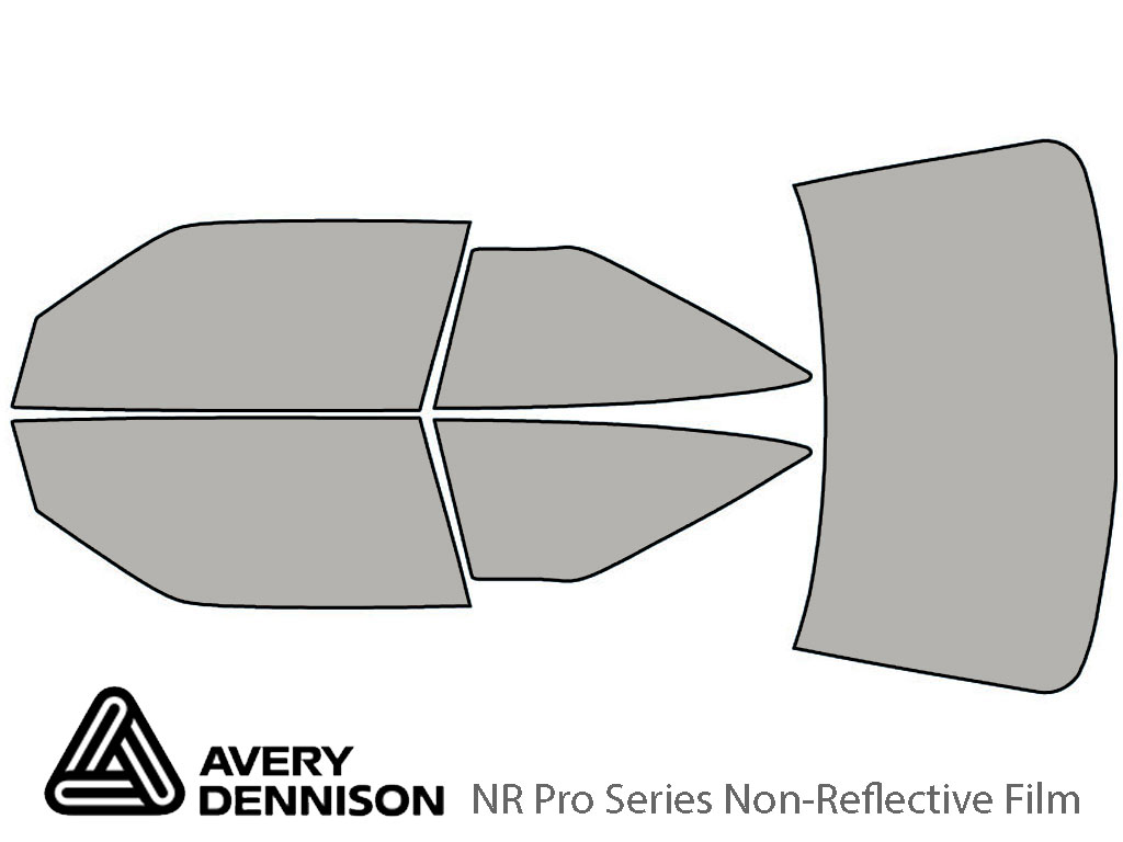 Avery Dennison Oldsmobile Cutlass Supreme 1989-1994 NR Pro Window Tint Kit