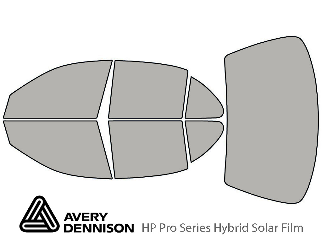 Avery Dennison Oldsmobile Intrigue 1998-2002 HP Pro Window Tint Kit