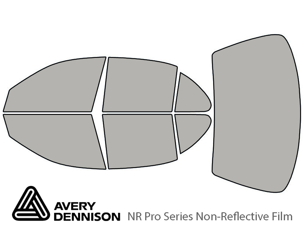 Avery Dennison Oldsmobile Intrigue 1998-2002 NR Pro Window Tint Kit