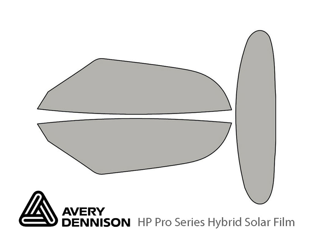 Avery Dennison Plymouth Prowler 2000-2001 HP Pro Window Tint Kit