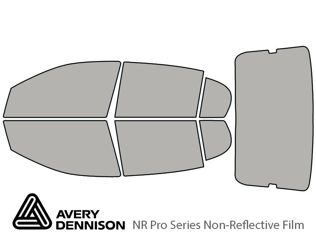 Avery Dennison Pontiac G5 2007-2009 (Sedan) NR Pro Window Tint Kit