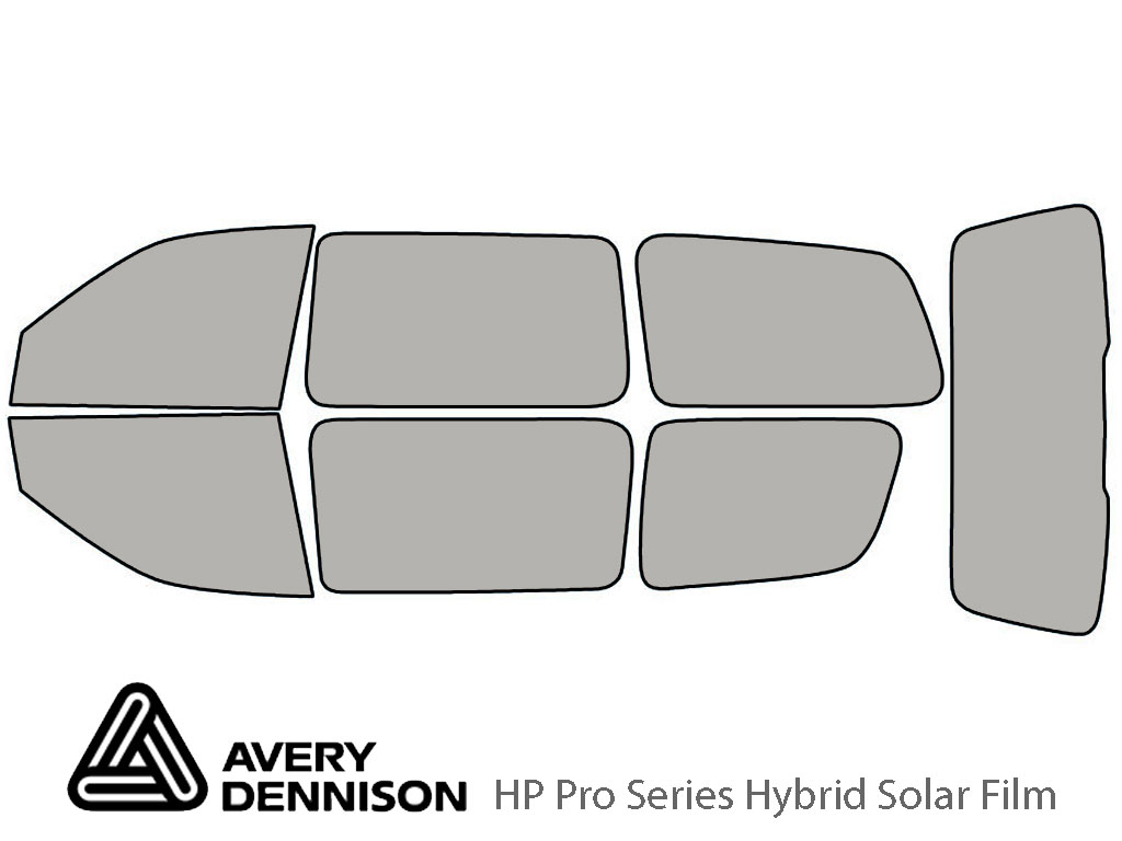 Avery Dennison Pontiac Montana 1999-2005 HP Pro Window Tint Kit