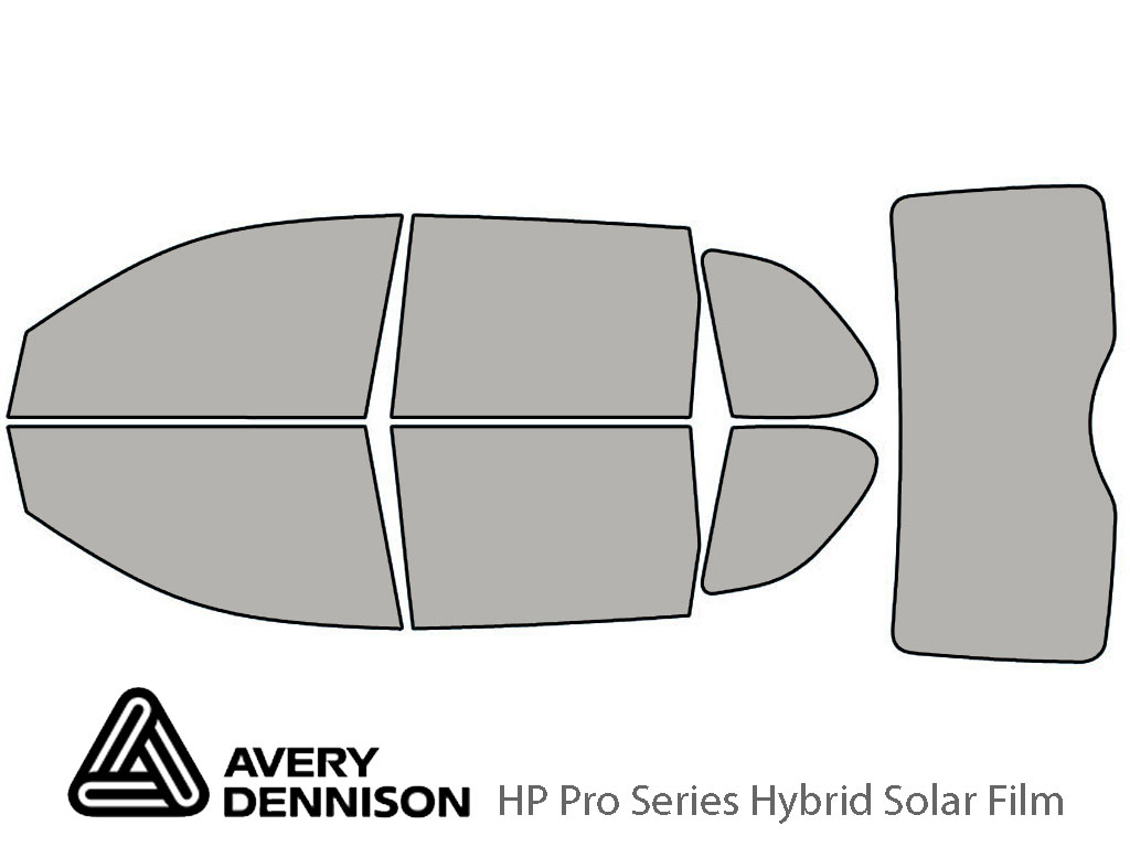Avery Dennison Porsche Cayenne 2003-2010 HP Pro Window Tint Kit