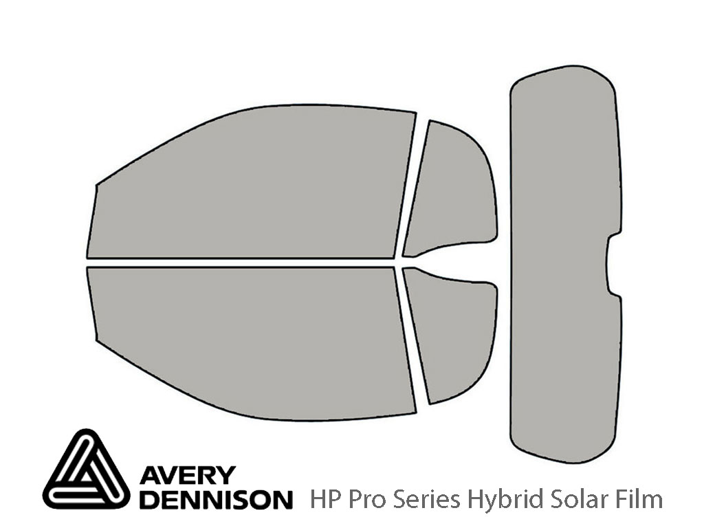 Avery Dennison SMART Fortwo 2008-2015 (Convertible) HP Pro Window Tint Kit