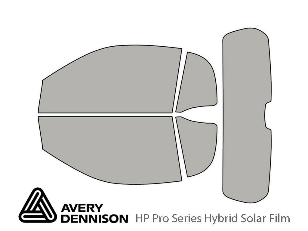 Avery Dennison SMART Fortwo 2008-2015 (Coupe) HP Pro Window Tint Kit