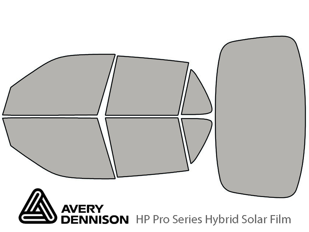 Avery Dennison Saab 9-5 1999-2009 (Sedan) HP Pro Window Tint Kit