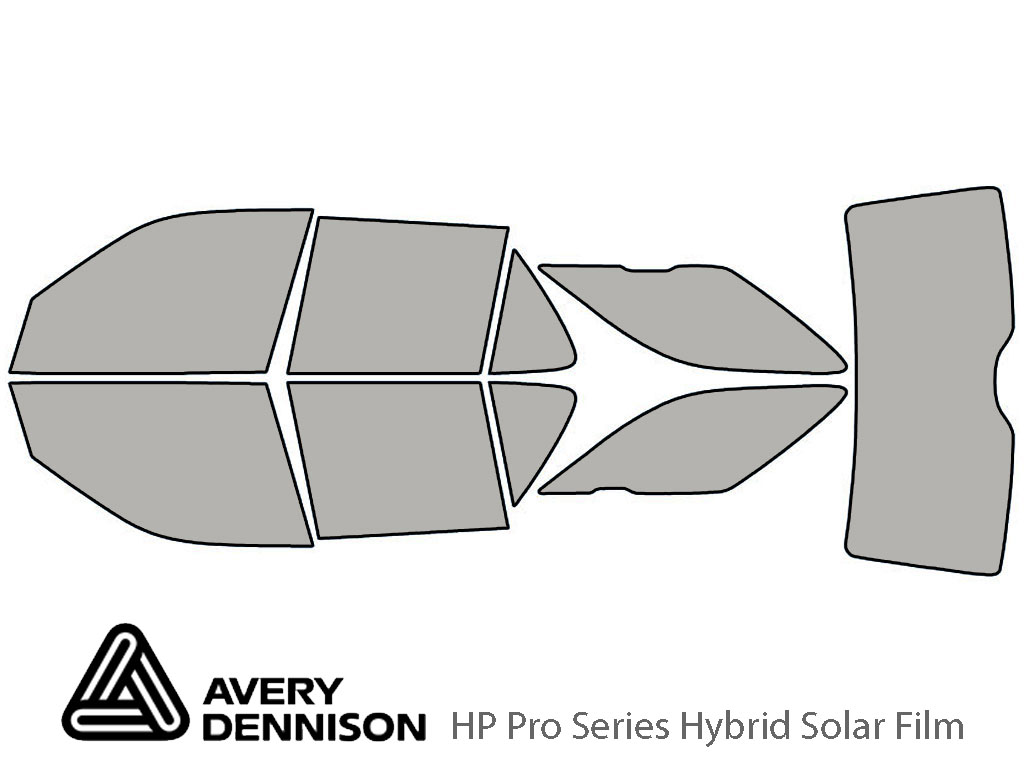 Avery Dennison Saab 9-5 1999-2009 (Wagon) HP Pro Window Tint Kit