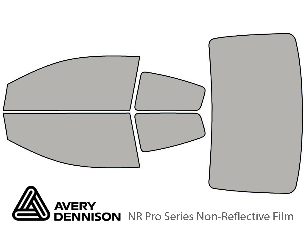 Avery Dennison Saturn Ion 2003-2007 (Coupe) NR Pro Window Tint Kit