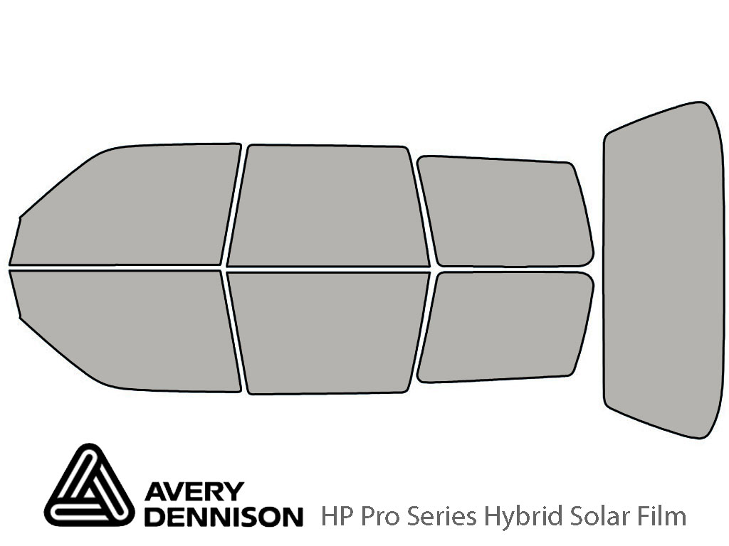 Avery Dennison Subaru Forester 1998-2002 HP Pro Window Tint Kit