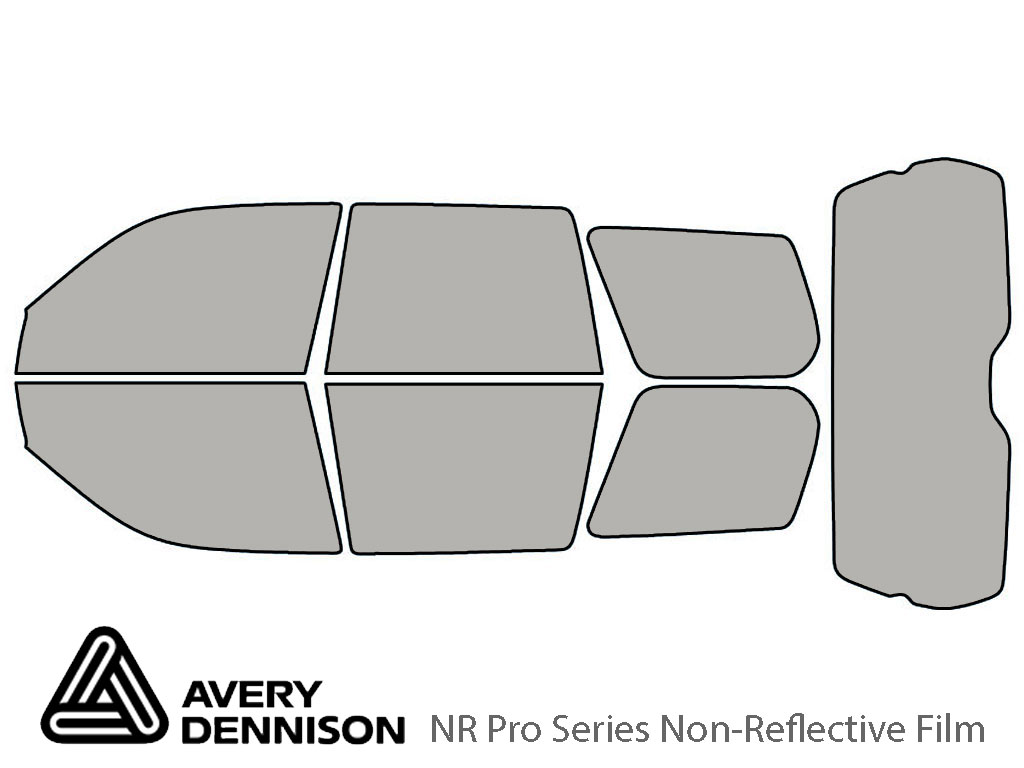 Avery Dennison Subaru Forester 2003-2005 NR Pro Window Tint Kit