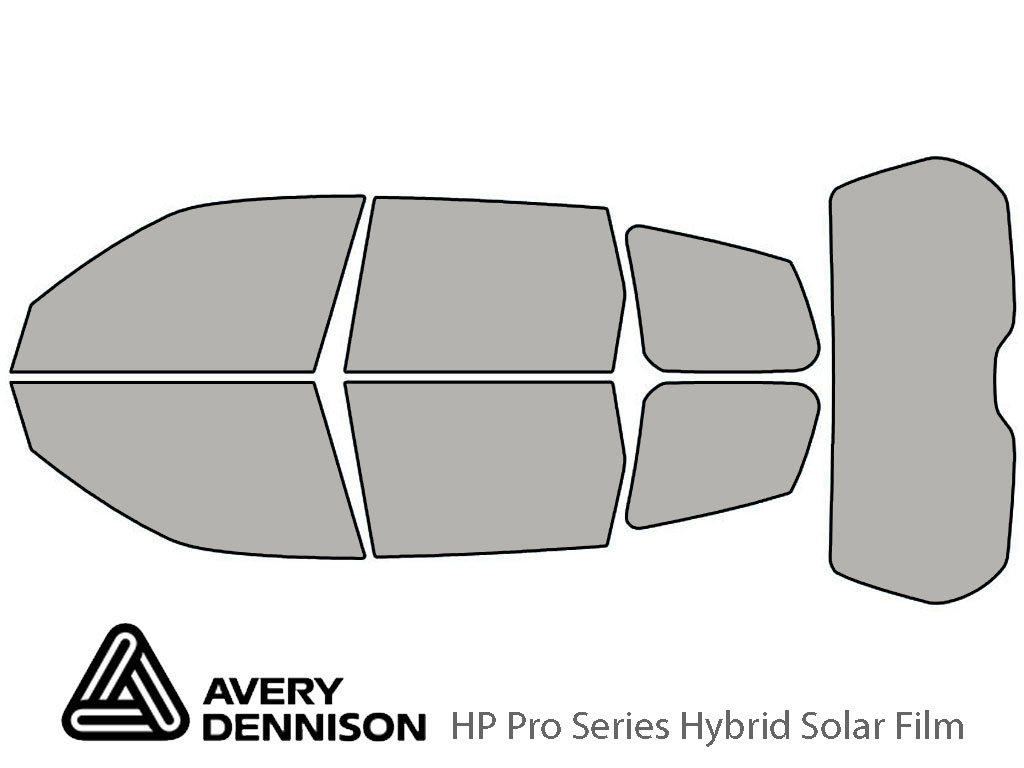 Avery Dennison Subaru Forester 2009-2013 HP Pro Window Tint Kit