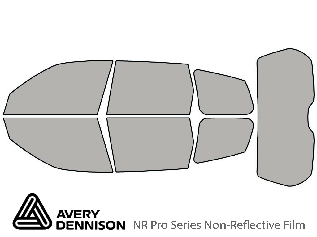 Avery Dennison Subaru Forester 2009-2013 NR Pro Window Tint Kit