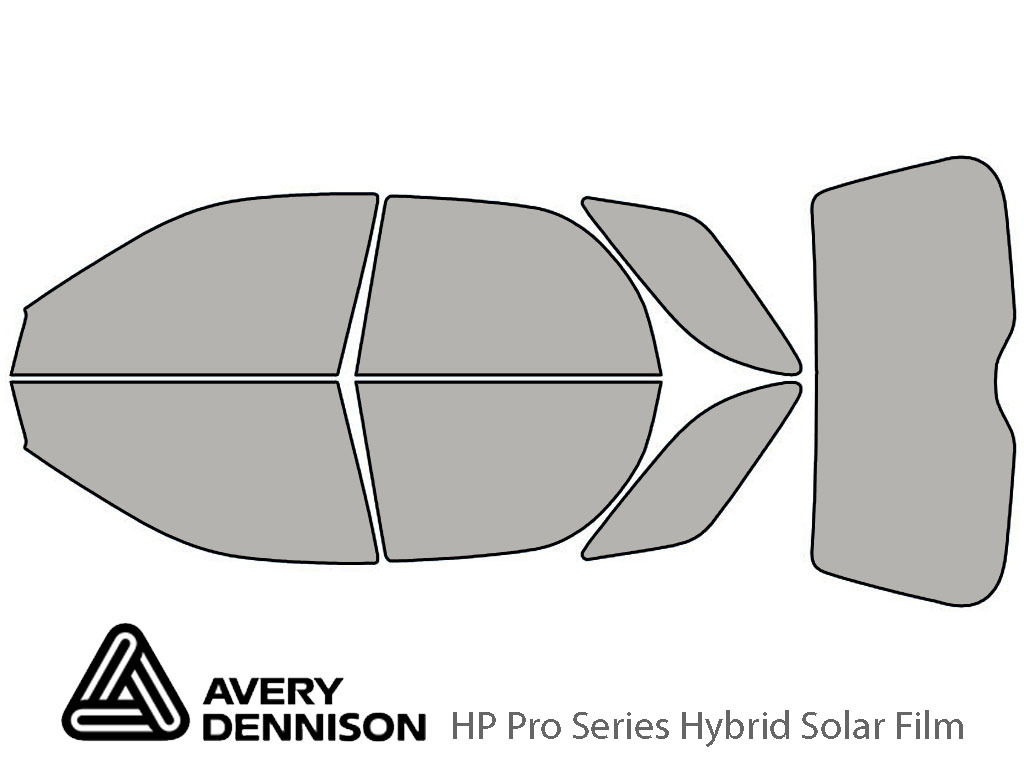 Avery Dennison Subaru Outback 2002-2007 (Sport) HP Pro Window Tint Kit