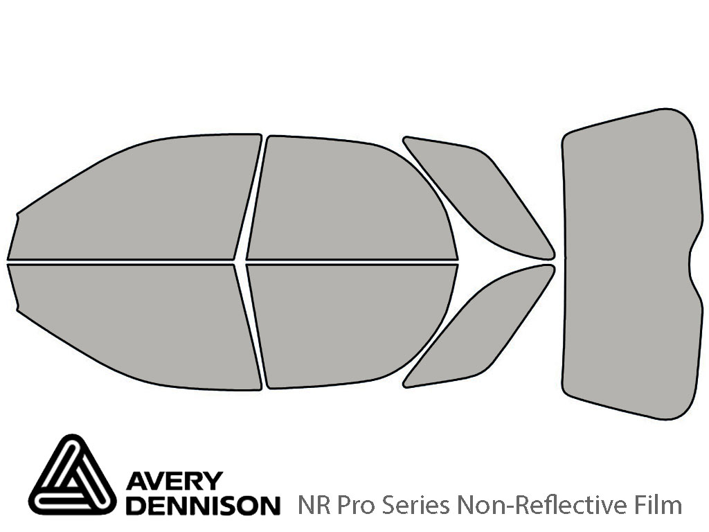 Avery Dennison Subaru Outback 2002-2007 (Sport) NR Pro Window Tint Kit