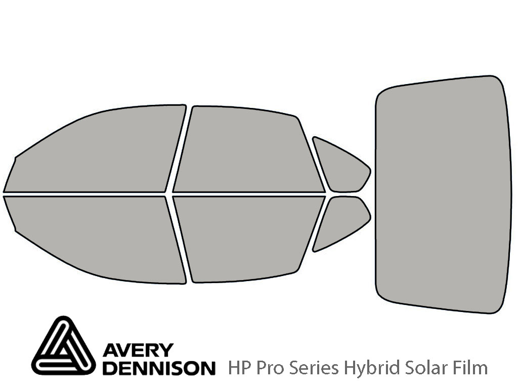 Avery Dennison Subaru Outback 2005-2007 (Sedan) HP Pro Window Tint Kit