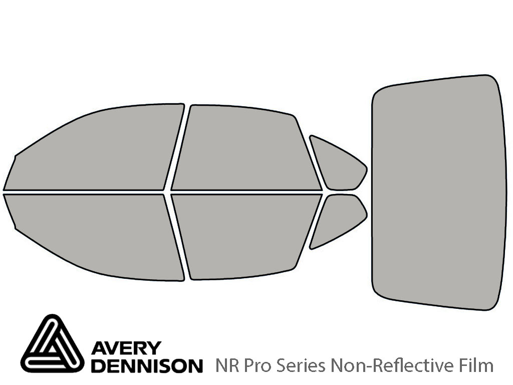 Avery Dennison Subaru Outback 2005-2007 (Sedan) NR Pro Window Tint Kit