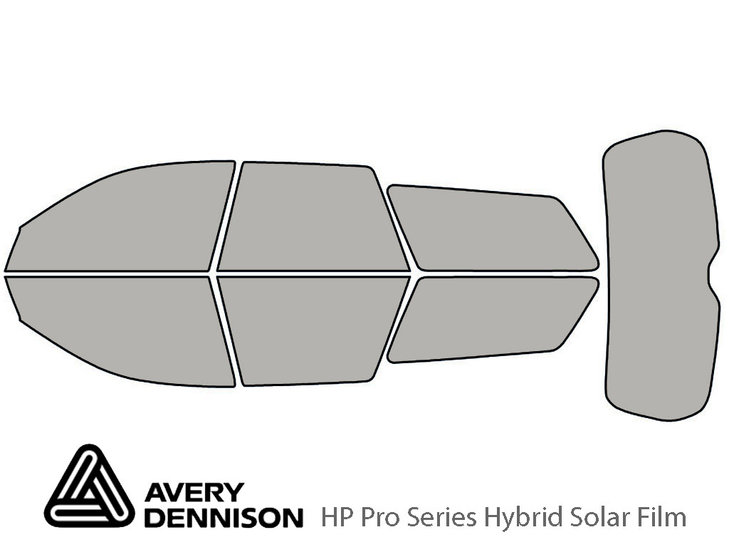 Avery Dennison Subaru Outback 2005-2009 (Wagon) HP Pro Window Tint Kit