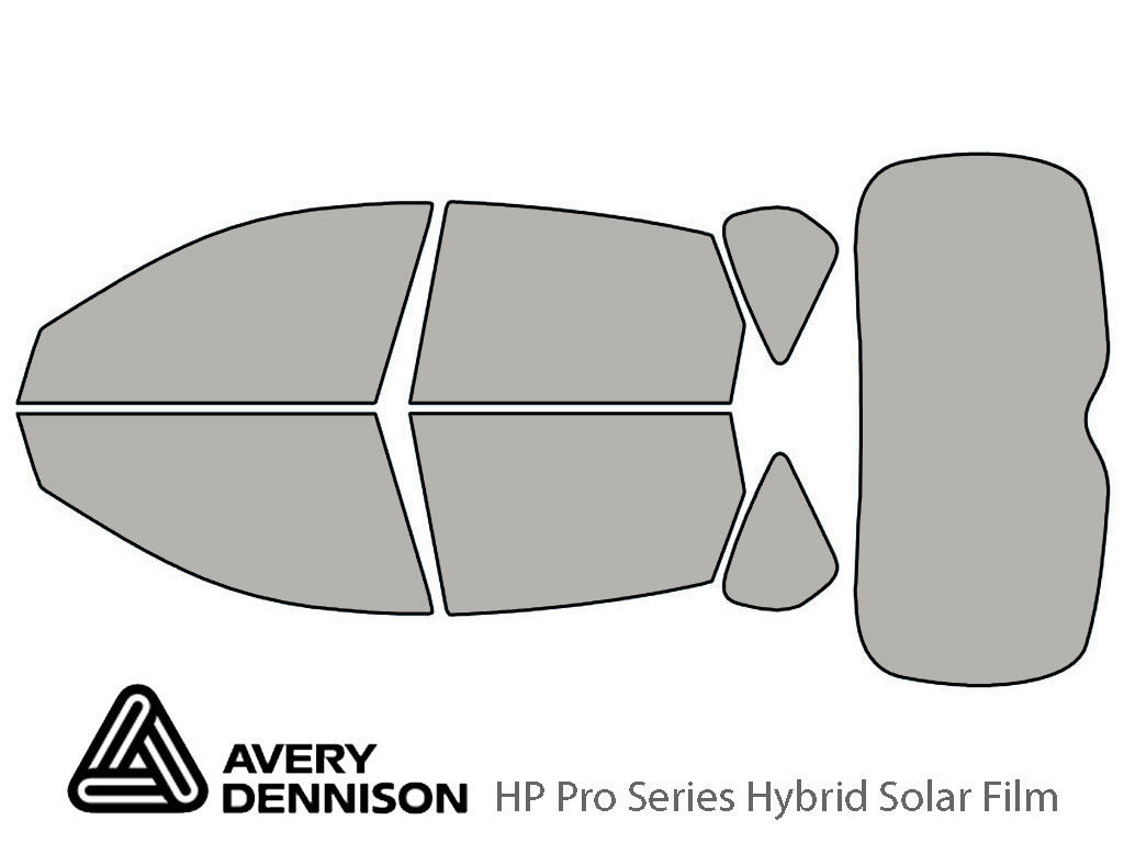 Avery Dennison Subaru Outback 2008-2011 (Sport) HP Pro Window Tint Kit
