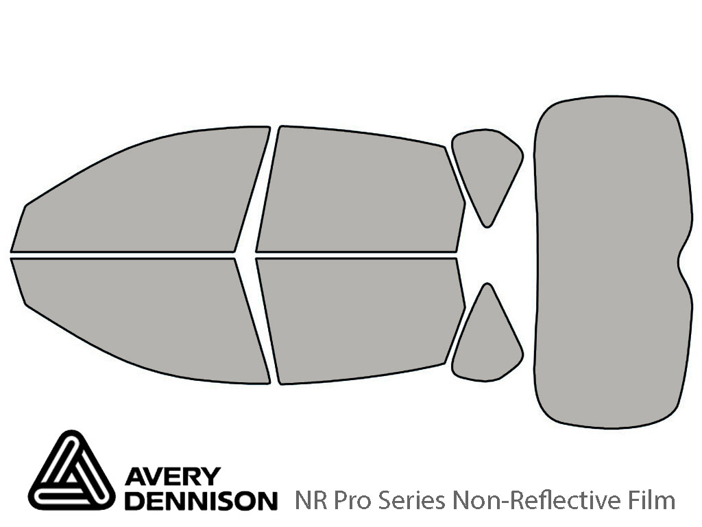 Avery Dennison Subaru Outback 2008-2011 (Sport) NR Pro Window Tint Kit