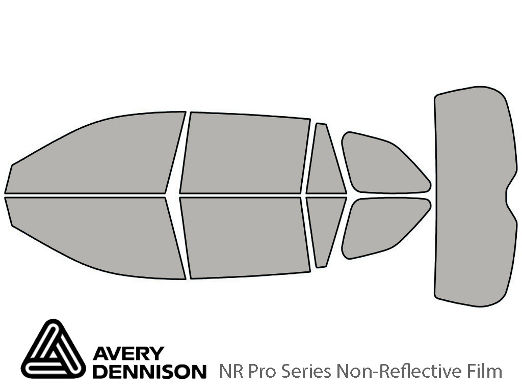 Avery Dennison Subaru Outback 2010-2014 (Wagon) NR Pro Window Tint Kit