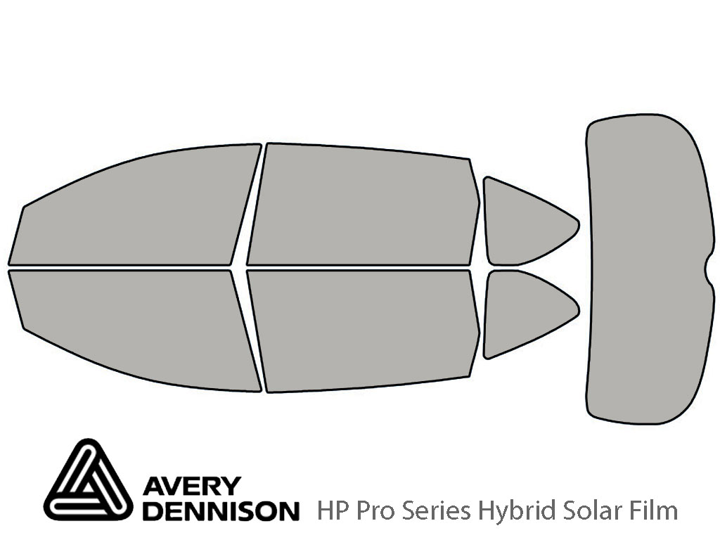 Avery Dennison Subaru Tribeca 2006-2014 HP Pro Window Tint Kit