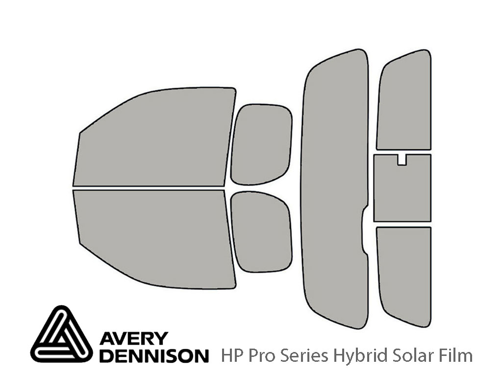 Avery Dennison Suzuki Equator 2009-2012 (2 Door) HP Pro Window Tint Kit