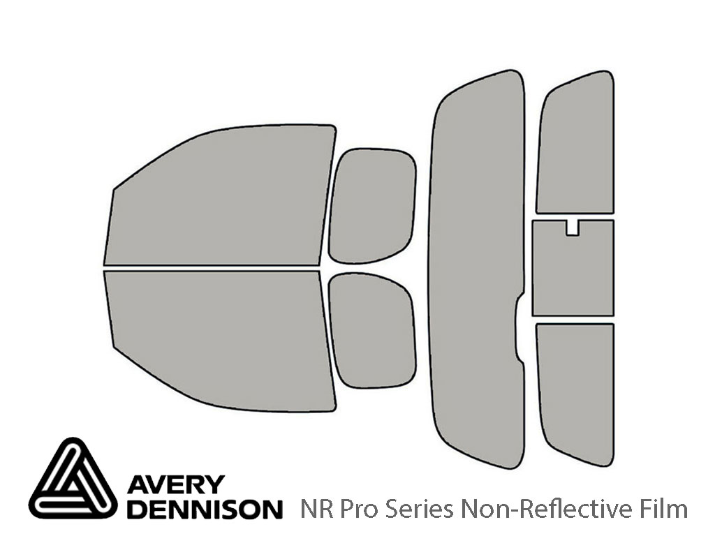 Avery Dennison Suzuki Equator 2009-2012 (2 Door) NR Pro Window Tint Kit