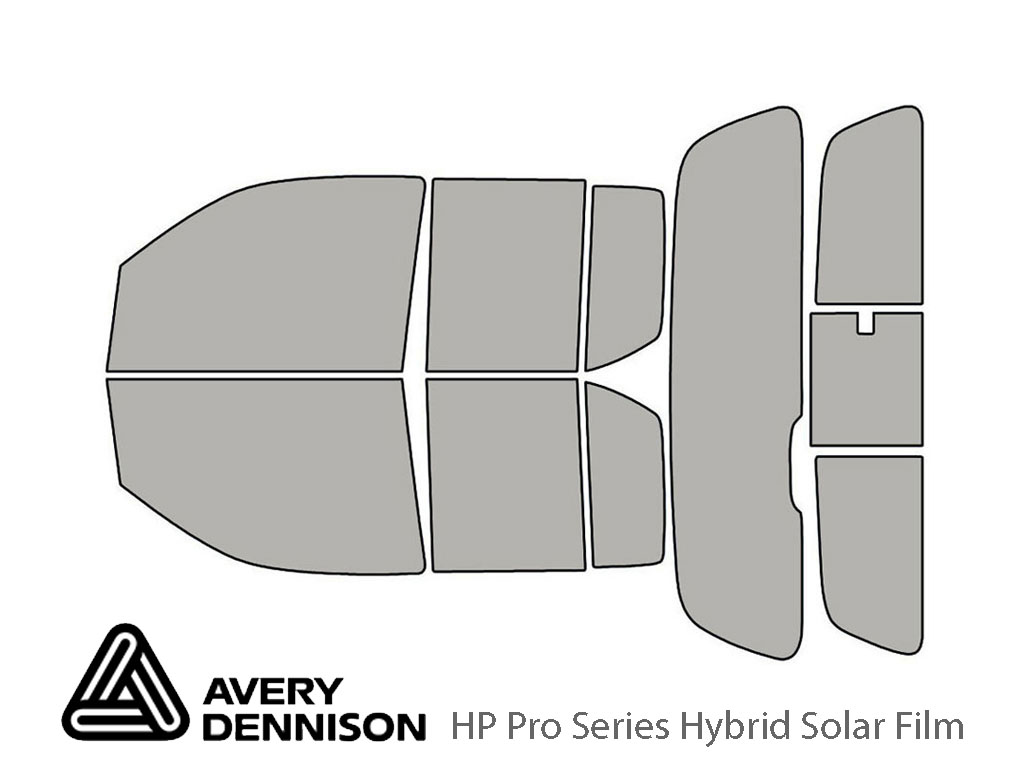 Avery Dennison Suzuki Equator 2009-2012 (4 Door) HP Pro Window Tint Kit