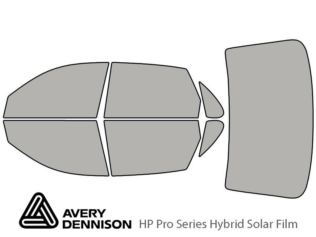 Avery Dennison Toyota Avalon 1995-1999 HP Pro Window Tint Kit