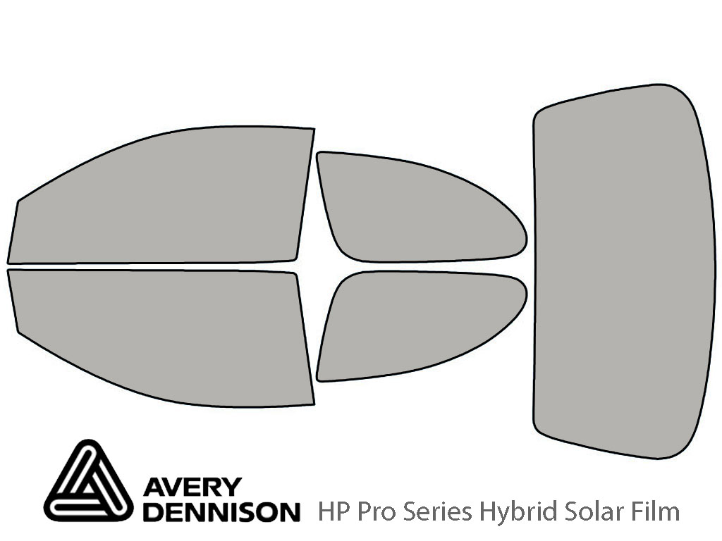 Avery Dennison Toyota Echo 2000-2005 (Coupe) HP Pro Window Tint Kit