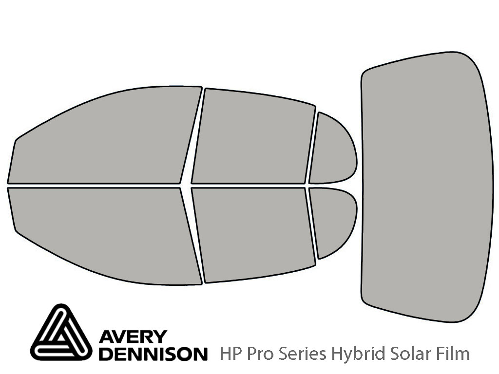 Avery Dennison Toyota Echo 2000-2005 (Sedan) HP Pro Window Tint Kit