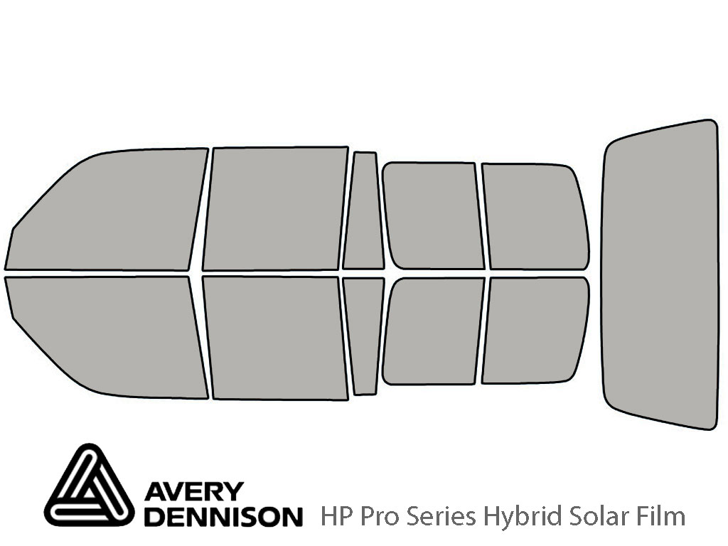 Avery Dennison Toyota Land Cruiser 1991-1997 HP Pro Window Tint Kit