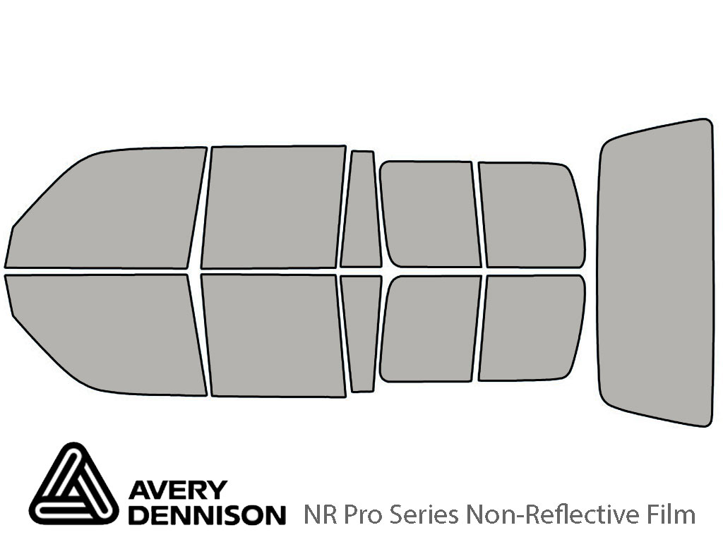 Avery Dennison Toyota Land Cruiser 1991-1997 NR Pro Window Tint Kit