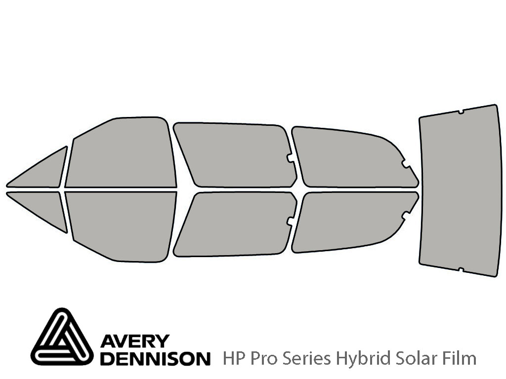 Avery Dennison Toyota Previa 1991-1997 HP Pro Window Tint Kit