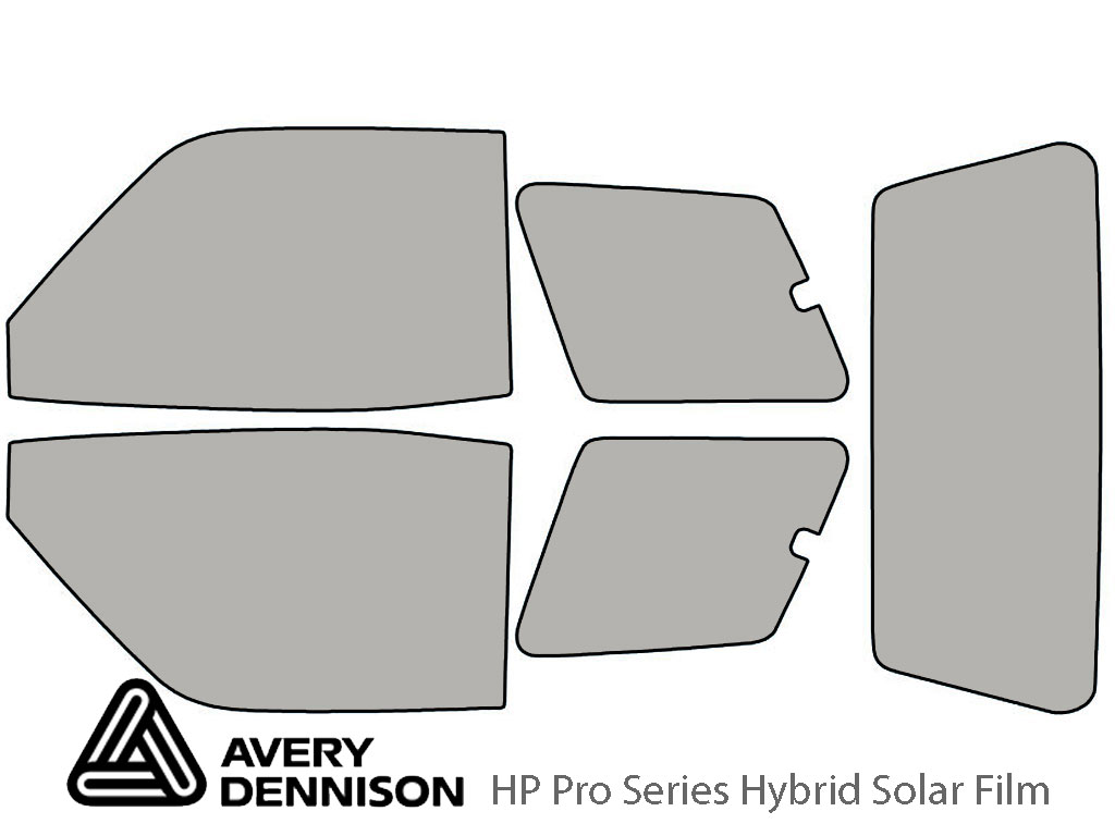 Avery Dennison Toyota Rav4 1996-1999 (2 Door) HP Pro Window Tint Kit