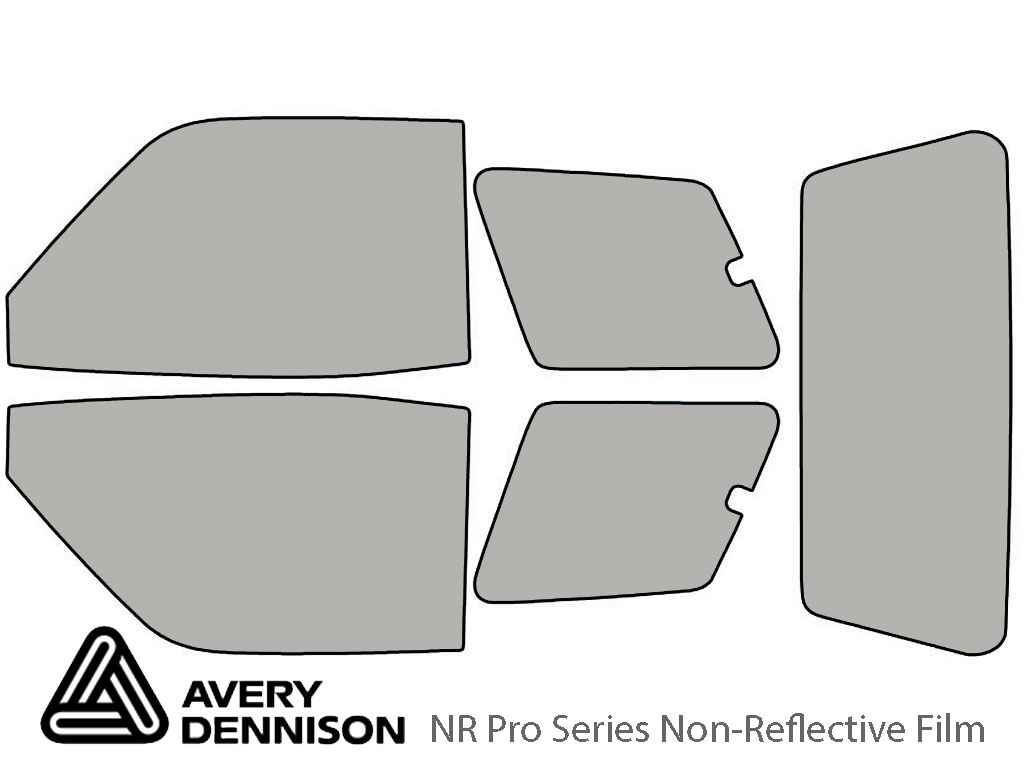 Avery Dennison Toyota Rav4 1996-1999 (2 Door) NR Pro Window Tint Kit